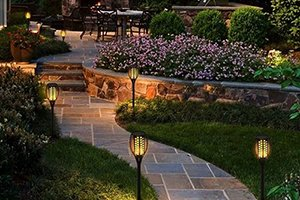 Solar Outdoor Pathway Lighting