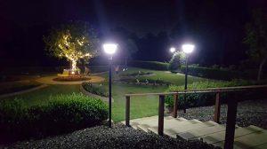 solar parking lights outdoor