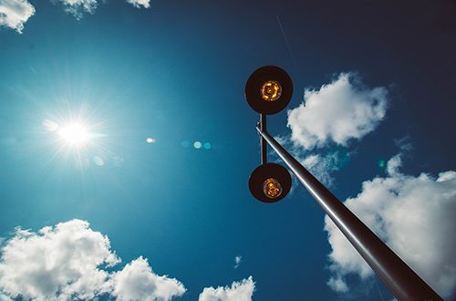 best solar lamp posts